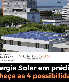 Energia Solar em prédio? Conheça as 4 possibilidades